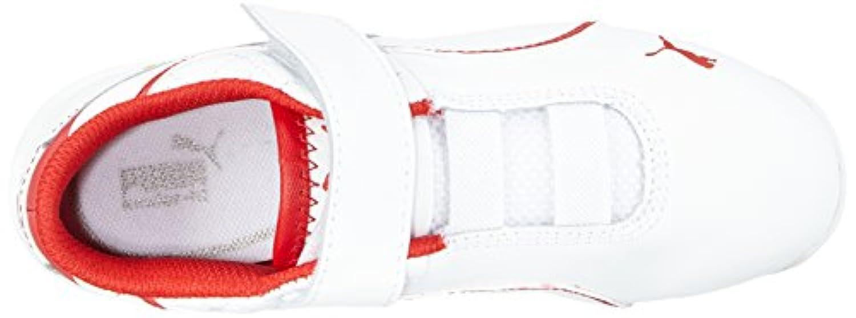 Puma Unisex Kids' Drift Cat 6 L NM SF Low-Top Trainer White Size: 1