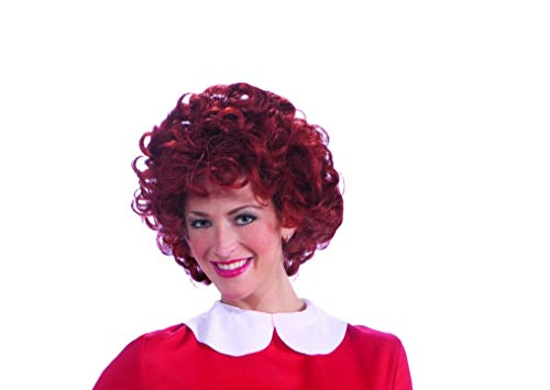 (Forum Novelties Women's Orphan Annie Costume Wig, Red, One)