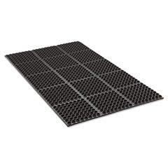 - Safewalk Heavy-Duty Anti-Fatigue Drainage Mat, General Purpose, 36 x 60, Black