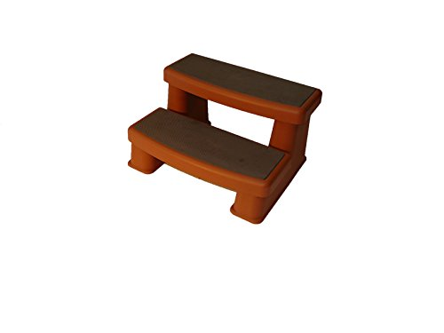 Polymer Spa Step (Redwood) Redwood Steps