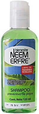 Shampoo Repelente de Piojos de Neem- Artesanal Natural Limpieza Profunda Vegano-Sin Parabenos Petrolatos-Biode