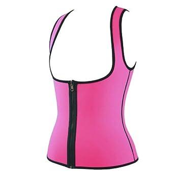 b6697b32c6 HITSAN INCORPORATION Women Body Shaper Slimming Vest Hot Shaper Neoprene  Slimm Underwear Shapewear Zipper Hot Shapers