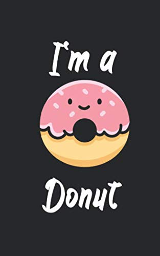 Halloween Vampire Doughnuts (I'm a donut: Notebook for Halloween/Horror fans. Perfect gift. With lines and numbers. 120)