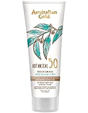 Australian Gold SPF 50 Botanical Tinted Mineral Suncreen for Medium to Tan Skin Tones, 3 oz.