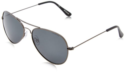 Polaroid 04213s Polarized Aviator Sunglasses,Gunmetal,58 - 58mm Sunglasses