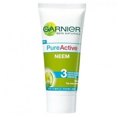 pure active face wash