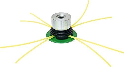 Cabezal desbrozadora de 4 hilos - sin llaves - Cortacésped de aluminio fabricado en Italia: Amazon.es: Jardín
