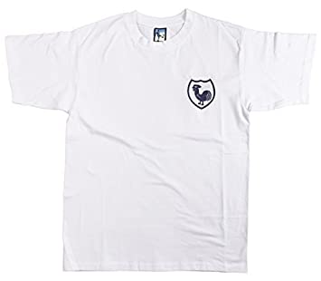 the latest d0fda 346fb Retro Tottenham Hotspurs 1940s Football T Shirt New Sizes S-XXL Embroidered  Logo