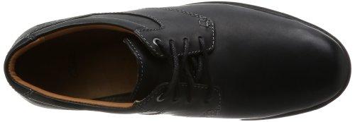 Oxfords Herren 20355341 Clarks Schwarz Redworth Day Black Leather 1vqASIAnw