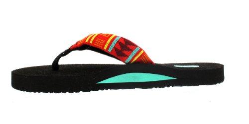 Thong 2 W'S Mush Break Teva Red Beach Sandals Womens 4Iv5w
