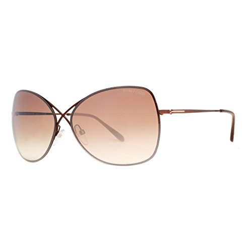 Tom Ford Sunglasses TF 250 BRONZE 48F - Tom Ford Sunglasses