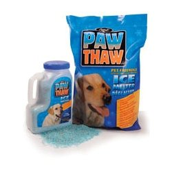 (Pestell 683051 Paw Thaw Ice Melt for Pets, 25-Pound Bag )