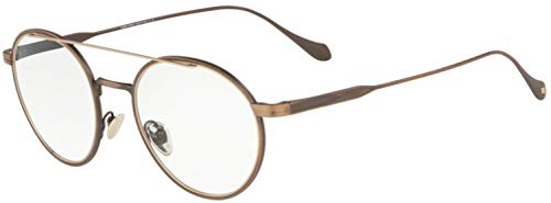 Eyeglasses Giorgio Armani AR 5089 3259 BRUSHED BRONZE/MT PALE GOLD