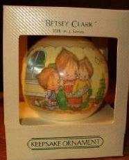 Betsey Clark #10 in the series Satin Ball 1982 hallmark ornament