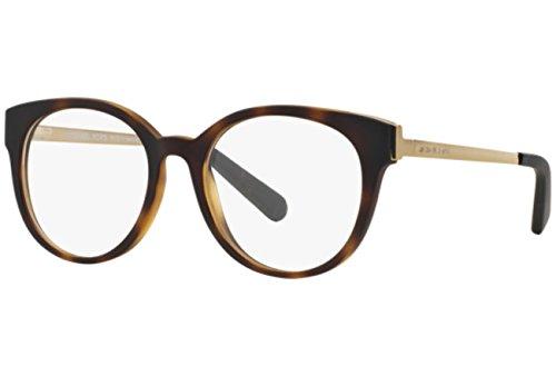 Michael Kors Galicia Eyeglasses MK8010 3021 Dk Tortoise 50 18 ()