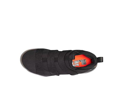 Nike Heren Lebron Soldaat Xi Basketbalschoenen Zwart / Gom Lichtbruin / Totaal Crimson / Zwart 897644-007 Maat 11.5