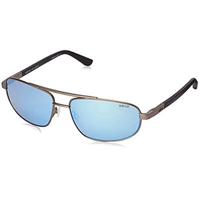 6ae82e259c8 Revo Unisex Unisex RE 1013 Nash Aviator Polarized UV Protection Sunglasses