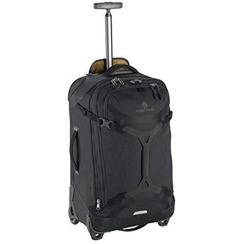(Eagle Creek Gear Warrior 2-Wheel Rolling Duffel Bag, 26-Inch, Jet)