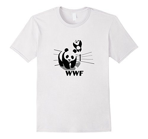 mens-wwf-world-wildlife-wrestling-fund-funny-random-t-shirt-medium-white