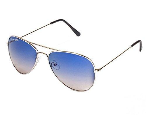 5f62effb3e8 Danny Daze Polycarbonate and Metal UV Protected Aviator Sunglasses ...