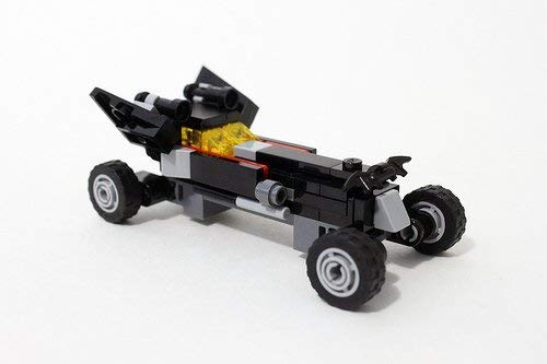 LEGO Kiss Bat Figure Building Kit Batman Batwing Plane Block Toy Set Mini Batmobile car /& Kiss Tuxedo Batman Movie Keychain Character Dangler Minifigure Bundle CCBloks