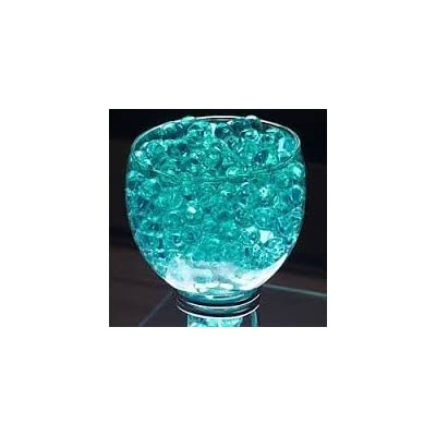 Turquoise Color Water Pearl Water Beads for Party Table Centerpiece Cosmo Beads Brand 8 Ounce Pack, Makes 6 Gallons: Health & Personal Care