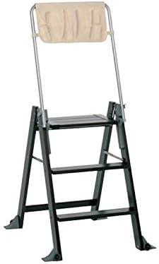 Foppapedretti La Scaletta - Escalera de 3 peldaños, Color wengué: Amazon.es: Hogar