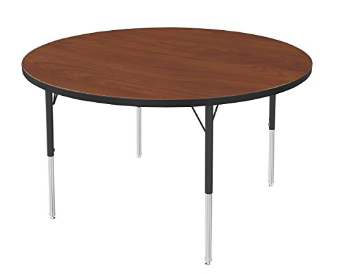 Office Round Activity Table - Marco Group Round Adjustable Activity Table, 36