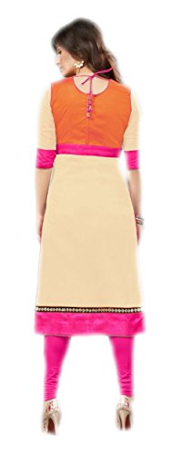 Jayayamala Frauen multi Farbe Fancy Tunika-Oberteil aus Baumwolle für Partei-Abnutzung Kurtis Kurta