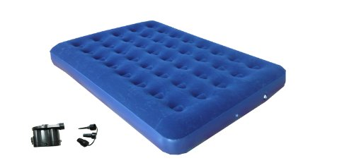 Zaltana Air mattress & DC air pump combo AMD+APD, Double Size by Zaltana