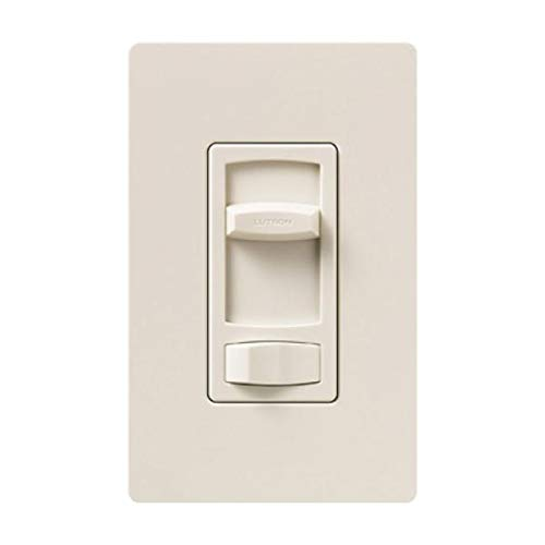 Lutron CT-600PH-LA Skylark Contour 600W Single Pole dimmer Light Almond ()