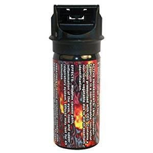 Safety Technology Wildfire 2 ounce 18% Flip top Actuator Pepper Spray Stream WF-18-2FT