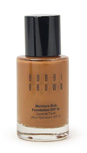 Bobbi Brown Moisture Rich Foundation Spf 15 Warm Walnut 1 Oz
