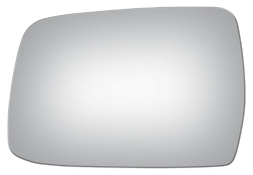 1998-2004 NISSAN-DATSUN FRONTIER PICKUP Flat, Driver Side Replacement Mirror Glass