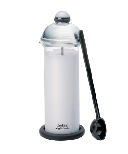 BonJour® Brushed Stainless Steel Caffe Froth Maximus Man