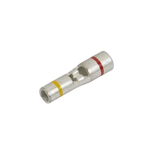 Non-Insulated Step Down Butt Connector, 12-10/8 Ga (10 Per Quantity)