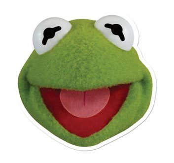 The Muppets Party - Kermit Face Mask