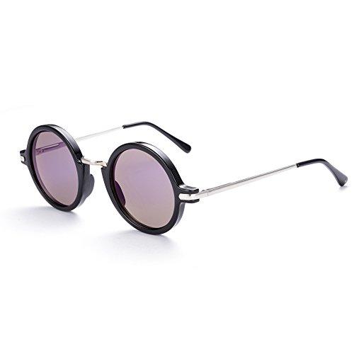Naivo Women's YJMH071-1 London Underground Inspired Sleek Sunglasses, Navy - London Y Sunglasses