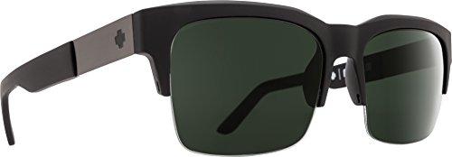 SPY Optic Malcolm Sunglasses (Matte Black,Happy Gray & Green)