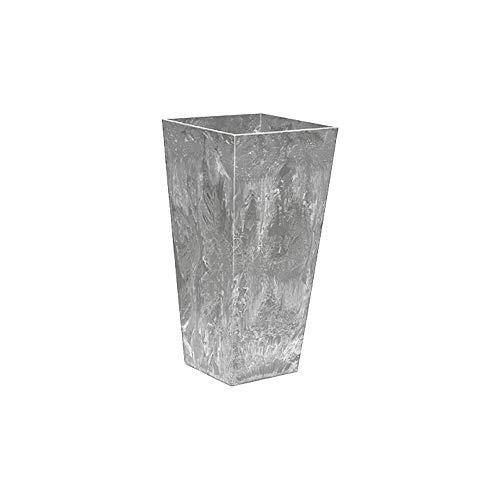 ArtStone Ella Tall Planter, Grey, 13.5-Inch ()