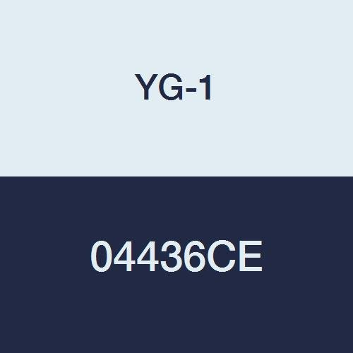 YG-1 04436CE HSSCo8 End Mill Regular Length TiAlN-Extreme Finish 6 Flute 1-1//8 4-1//2 Length