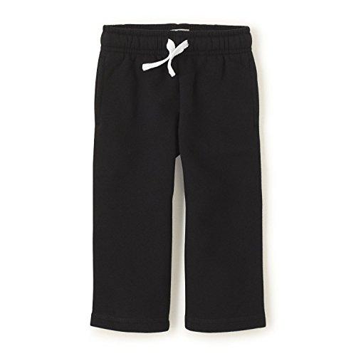 Sweatpant Black Clothing (The Children's Place Baby Boys' Gym Uniform Fleece Pant, Black, 9-12 Months)