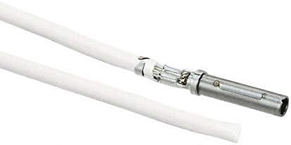 11 PRE-CRIMP A1857//19 WHITE Pack of 100 0845250032-11-W9