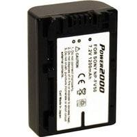 Power 2000 NP-FV50 Replacement Lithium-Ion 7.2v, 1200mAh Camcorder Battery for Sony Camcorders -