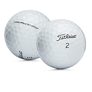 Titleist Pro V1 2014 Near Mint AAAA Used Recycled Golf Balls (50 Balls) by LostGolfBalls