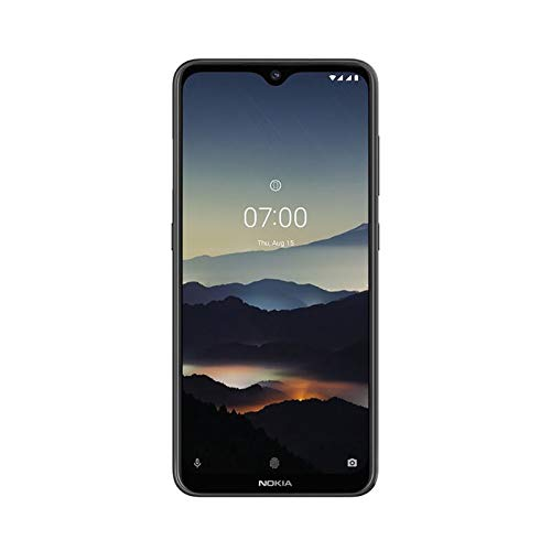 NOKIA 7.2 Android Smartphone, 6GB RAM, 128GB Memory, 6.3 FHD+ Screen, 48MP Triple Camera ZEISS Optics - Charcoal