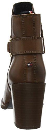 Tommy Hilfiger P1285enelope 8a, Zapatillas de Estar por Casa para Mujer Marrón - Braun (Noce 918)