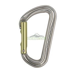 DMM Shadow Keylock Straight Gate Carabiner, Silver