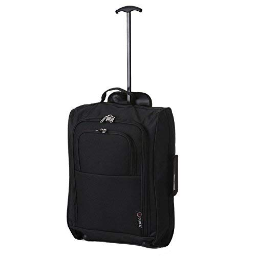 Hand Both amp; Ryanair 54 Second Mano Liters Approved Cm 42 Of black Main Cabin Negro De Luggage 2 Cities Set 5 On Carry Equipaje qx6vSwfx