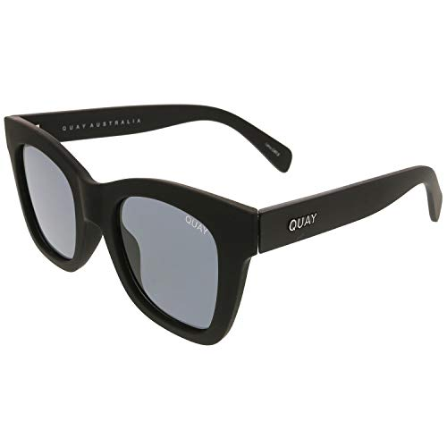 Quay Women's After Hours Sunglasses, Black/Smoke, One Size